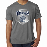 Gladiators Platinum Vintage Tri Blend Soft Tee