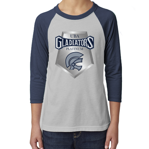 Gladiators Platinum Kids 3/4 Sleeve