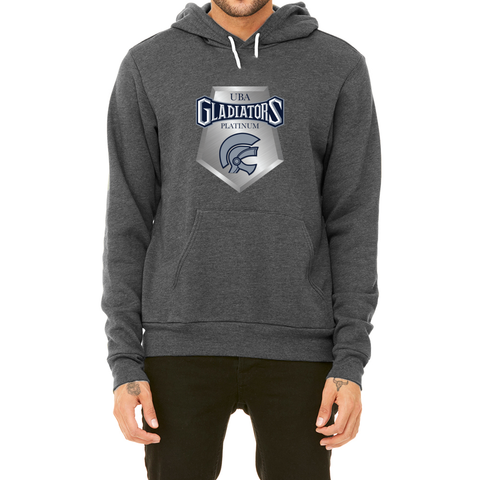 Gladiators Platinum Pullover Fleece Hoodie