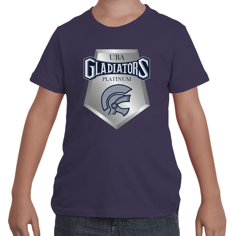 Gladiators Platinum Kids Tee