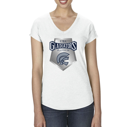 Gladiators Platinum Tri Blend V-Neck