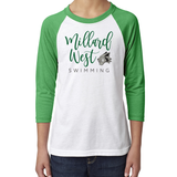 MW Swim Youth 3/4 Sleeve