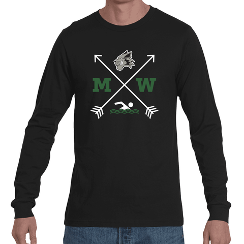 MW Swim Arrow Long Sleeve