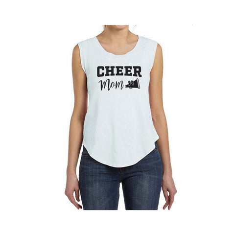 Cheer Mom V2 Cap-Sleeve Tee