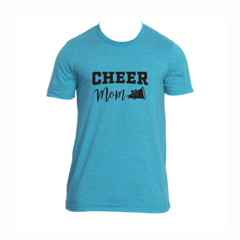 Cheer Mom V2 Tri-Blend Tee