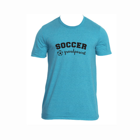 Soccer Grandparent Tri-Blend Tee