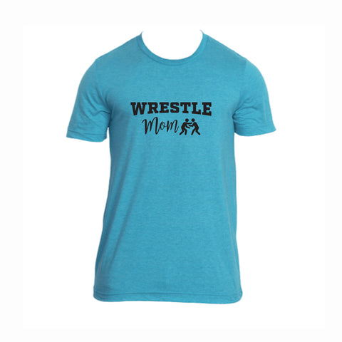 Wrestle Mom V2 Tri-Blend Tee