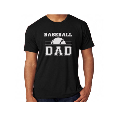 Baseball Dad Triblend Soft Tee