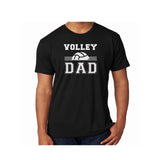 Volleyball Dad Triblend Soft Tee