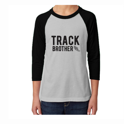 Track Brother Youth 3/4 Sleeve Tee