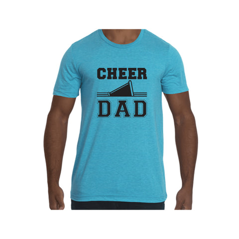 Cheer Dad Tri-Blend Tee