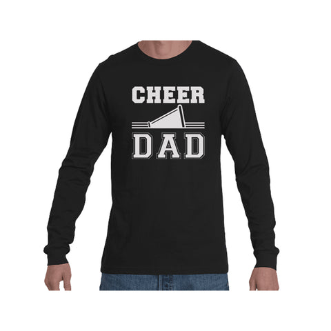 Cheer Dad Triblend Long Sleeve Tee