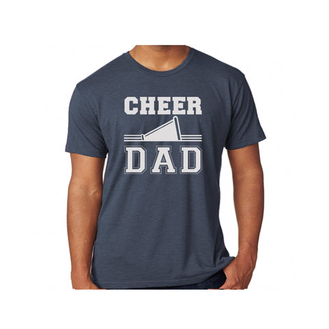 Cheer Dad Triblend Soft Tee