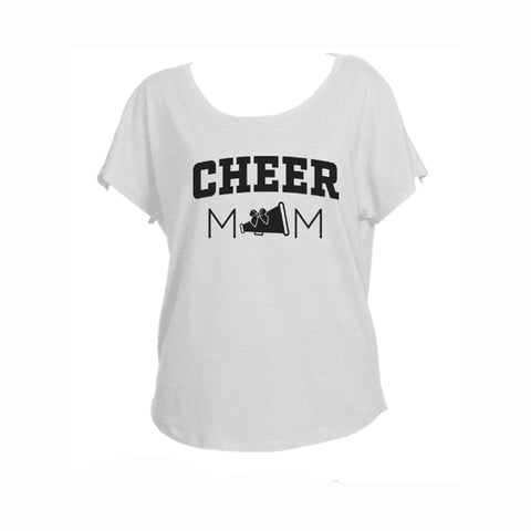 Cheer Mom V1 Triblend Dolman