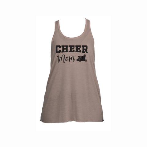 Cheer Mom V2 Flowy Racerback Tank