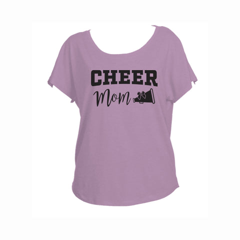 Cheer Mom V2 Triblend Dolman