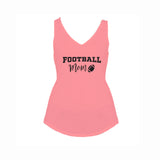 Football Mom V2 Flowy V-Neck Tank