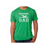 Swim Dad Triblend Soft Tee