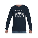 Football Dad Triblend Long Sleeve Tee
