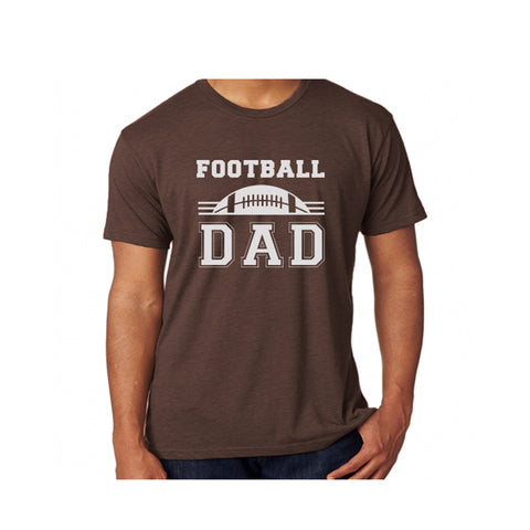 Football Dad Triblend Soft Tee