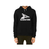 Gladiator Pullover Fleece Dark Hoodie