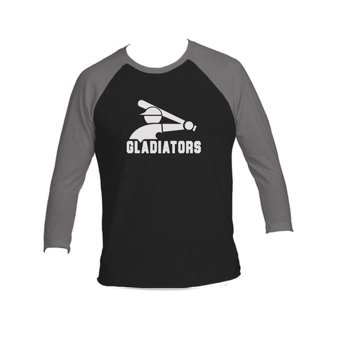 Gladiators Tri-Blend Dark 3/4-Sleeve Tee