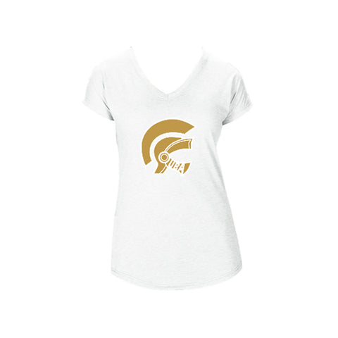 Gladiators Logo Triblend V-Neck Tee