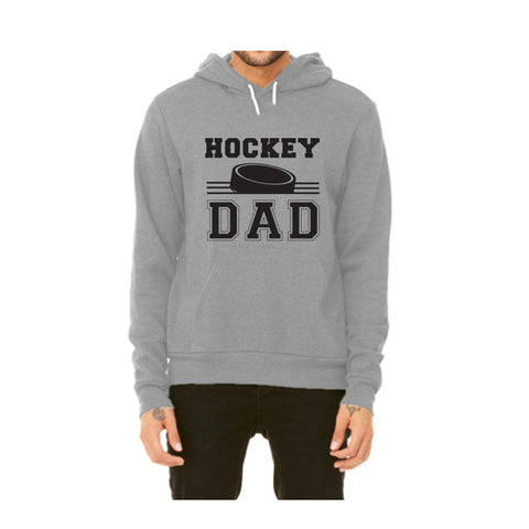 Hockey Dad Pullover Fleece Hoodie