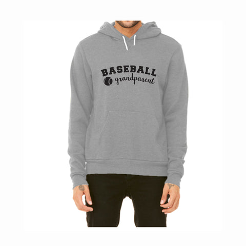 Baseball Grandparent Pullover Fleece Hoodie