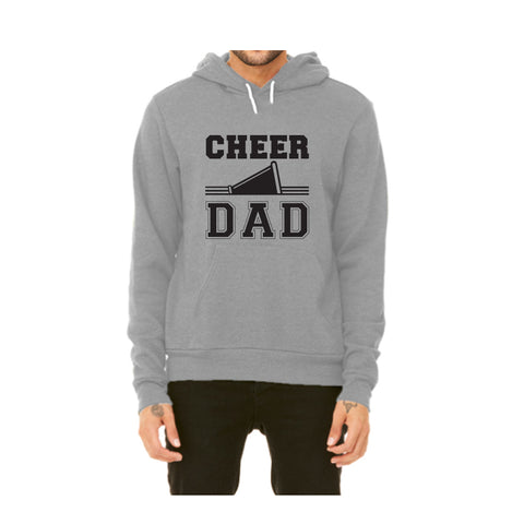 Cheer Dad Pullover Fleece Hoodie