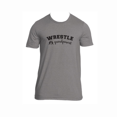 Wrestle Grandparent Tri-Blend Tee