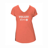 Volleyball Mom V2 Triblend V-Neck Tee