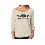 Rugby Grandparent Terry 3/4 Sleeve Raglan