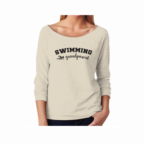 Swim Grandparent Terry 3/4 Sleeve Raglan