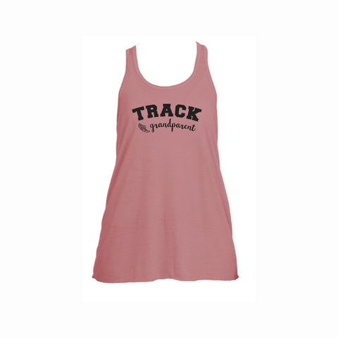 Track Grandparent Flowy Racerback Tank