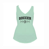 Soccer Mom V1 Flowy V-Neck Tank
