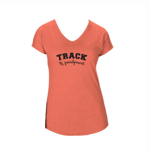 Track Grandparent Triblend V-Neck Tee