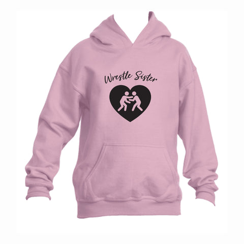 Wrestle Sister Youth 50/50 Hoodie