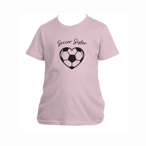 Soccer Sister Youth Tee