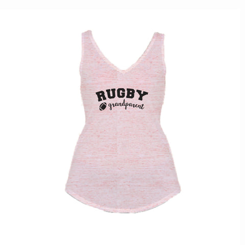 Rugby Grandparent Flowy V-Neck Tank