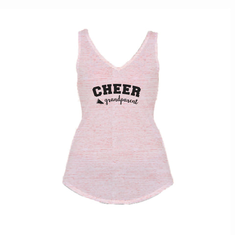Cheer Grandparent Flowy V-Neck Tank