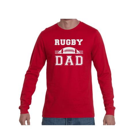 Rugby Dad Triblend Long Sleeve Tee