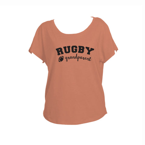 Rugby Grandparent Triblend Dolman