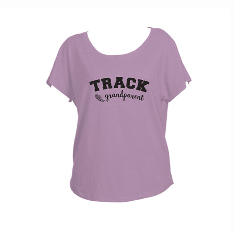 Track Grandparent Triblend Dolman