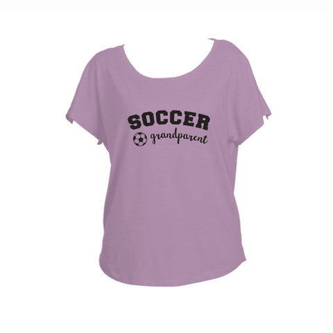Soccer Grandparent Triblend Dolman
