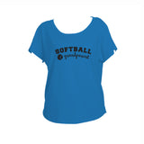 Softball Grandparent Triblend Dolman