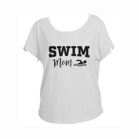 Swim Mom V2 Triblend Dolman