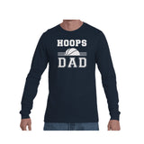 Hoops Dad Triblend Long Sleeve Tee