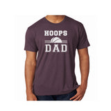 Hoops Dad Triblend Soft Tee