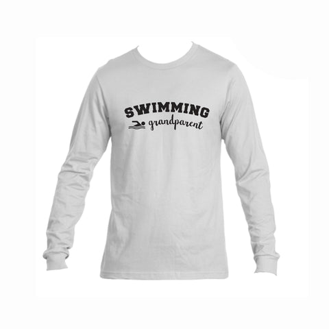 Swim Grandparent Triblend Long Sleeve Tee